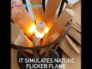 LED лампа с эффектом пламени aliekspress имитация огня купить на алиэкспресс для интерьера обустройство дома освещение