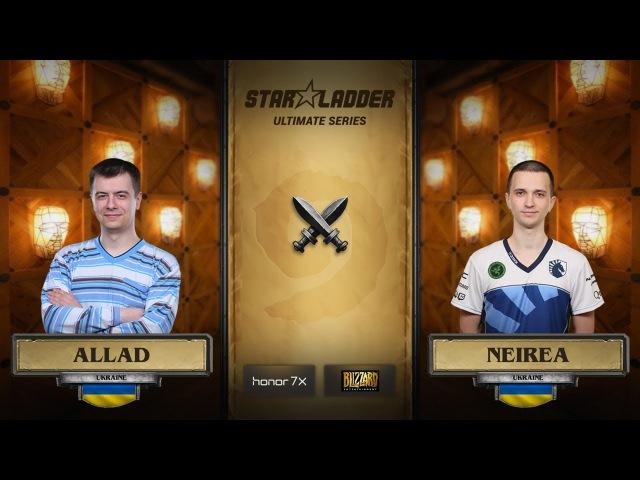 Allad vs Neirea StarLadder Hearthstone Ultimate Series