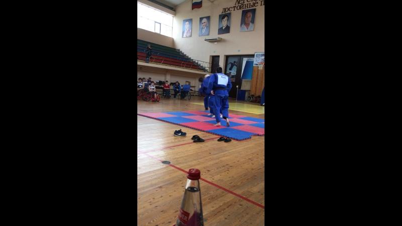 Мастер класс от наших параолимпийцев по Дзюдо