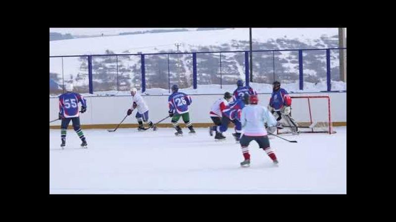 Хоккей-17 02 2018 (фрагмент)- ХК Пламя(г.Цивильск) и ХК Ракета(г.Волжск),