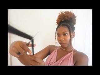 ASMR Salon Hair Wash and Haircut Role play