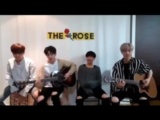 The rose you're not an ordinary girl (block b cover)