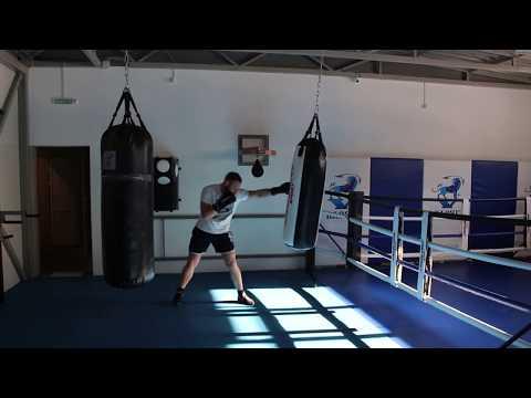 Работа на боксёрском мешке 60 кг с мягкой набивкой Дмитрий Масленников