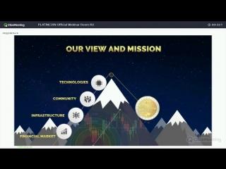 Platincoin вебинар с алексом новые слайды