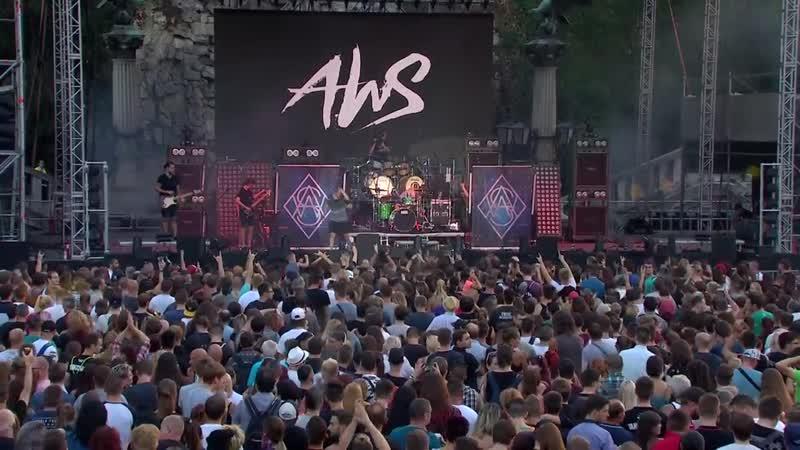 AWS koncert a Gellért-szobor lábánál - 2018. augusztus 19.