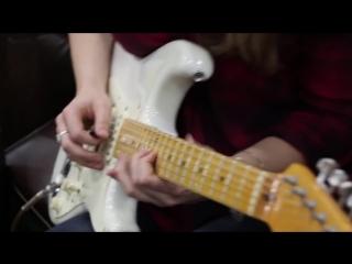 Mary Spender  Angela Petrilli on Straturday! - 1965 Fender Strat Sonic Blue  Eric Johnson Strat