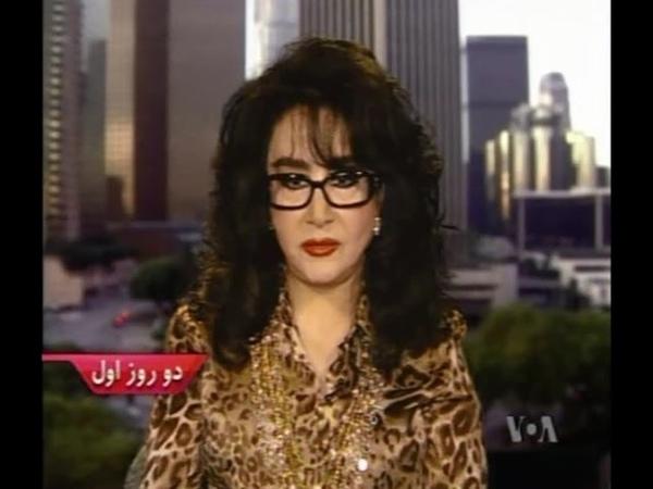 Homeyra in VOA farsi مصاحبه حمیرا در صدای آمریکا смотреть онлайн без регистрации