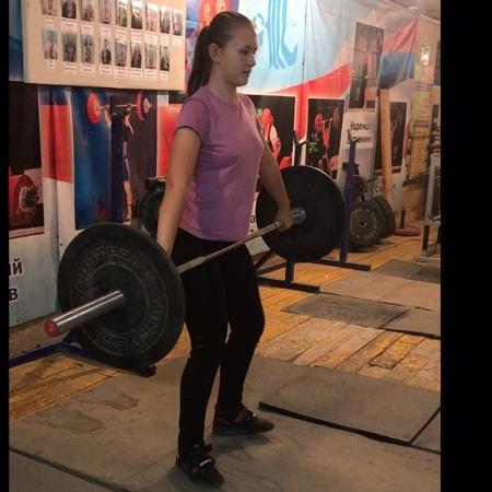 """Анастасия Железнякова, спортсменка 2007 г. рожд. Весовая катег до 71 кг. Ждем больших килограммов.…"""""""