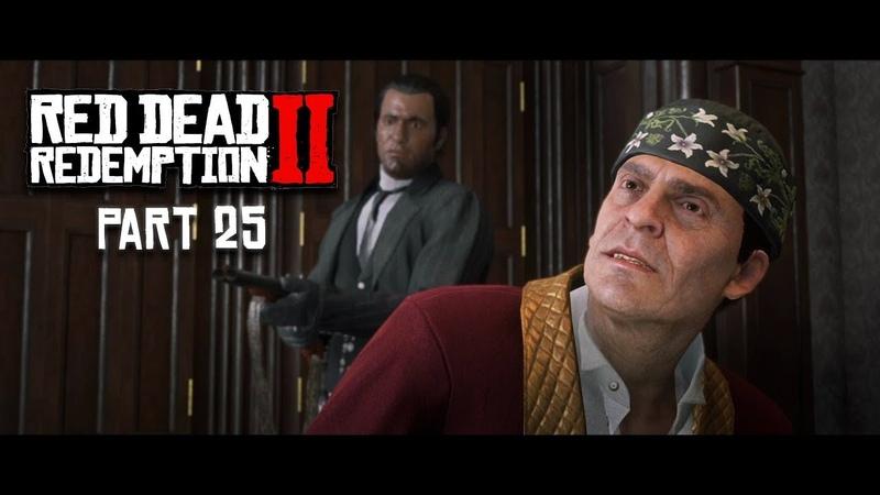 RED DEAD REDEMPTION 2 Walkthrough Gameplay Part 25 ANGELO BRONTE PS4