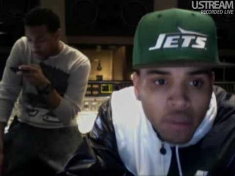 Chris Brown Live on Ustream 04/01/10 01:40AM Part 4