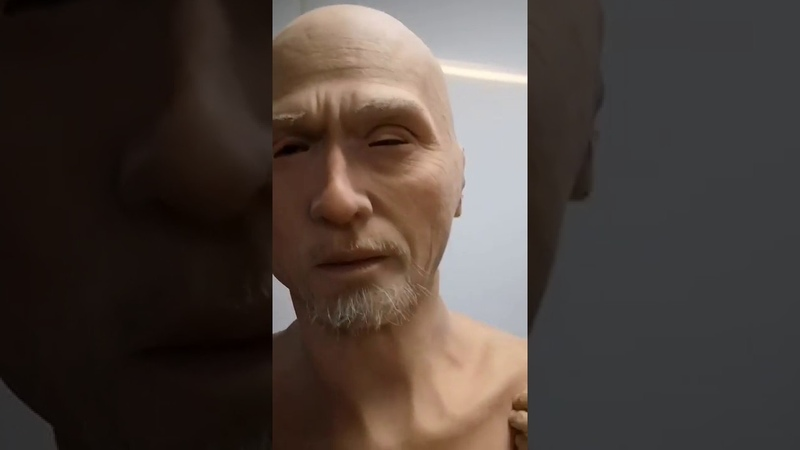 EYUNG Charles Europe man face Simulation mask by amily