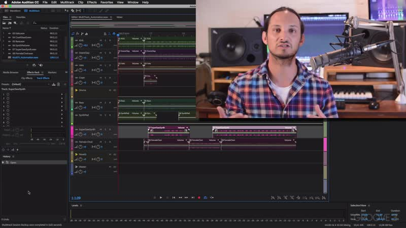 Groove3 Editing Audio with Adobe Audition