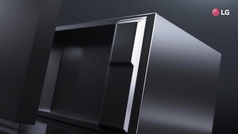 LG NeoChef premium microwave oven _ USP Video _ The Art of Minimalism