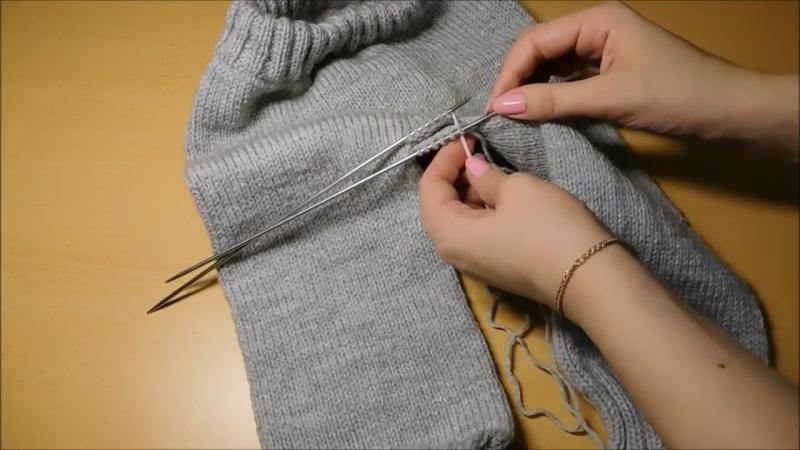 Детские штанишки спицами без швов на любой размер от 0 до 4 лет