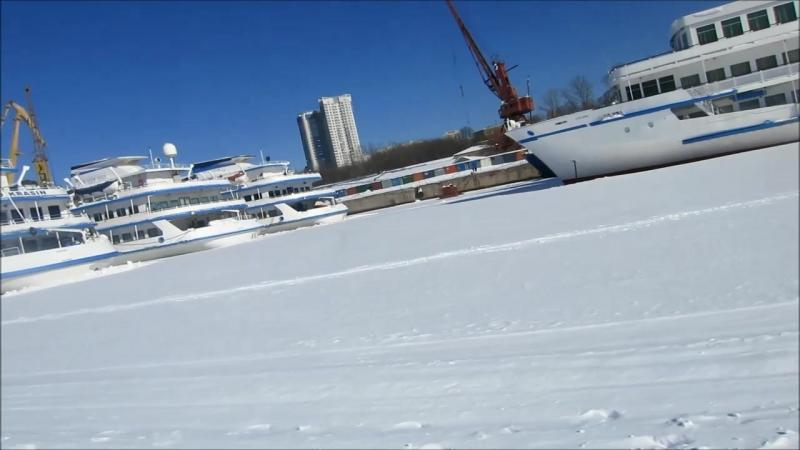 03 18г 8 марта на лыжах Хитмк водохр последов закалки