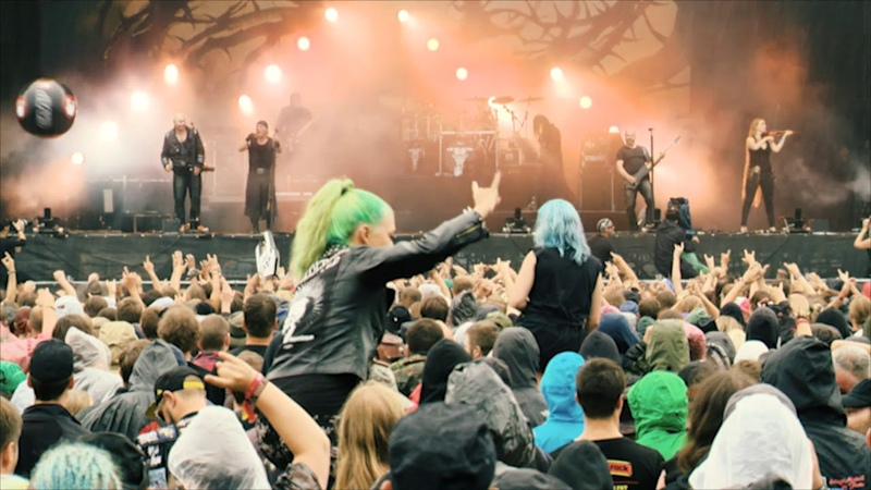 Subway To Sally Arme Ellen Schmitt LIVE @ Summer Breeze Open Air 2016