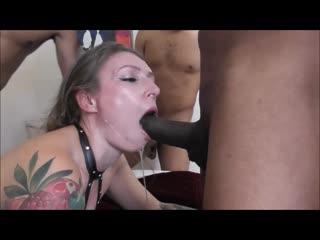 Ava austen - 5 men in all my holes squirt bukkake, gangbang anal porno
