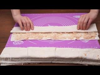 Пирожки с мясом без теста