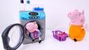 Peppa ajuda a Mamãe Pig! Peppa Pig Português Brasil. Video de brinquedos.