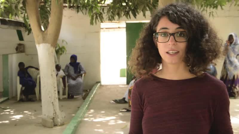 SARA VOLUNTARIA EN GAMBIA