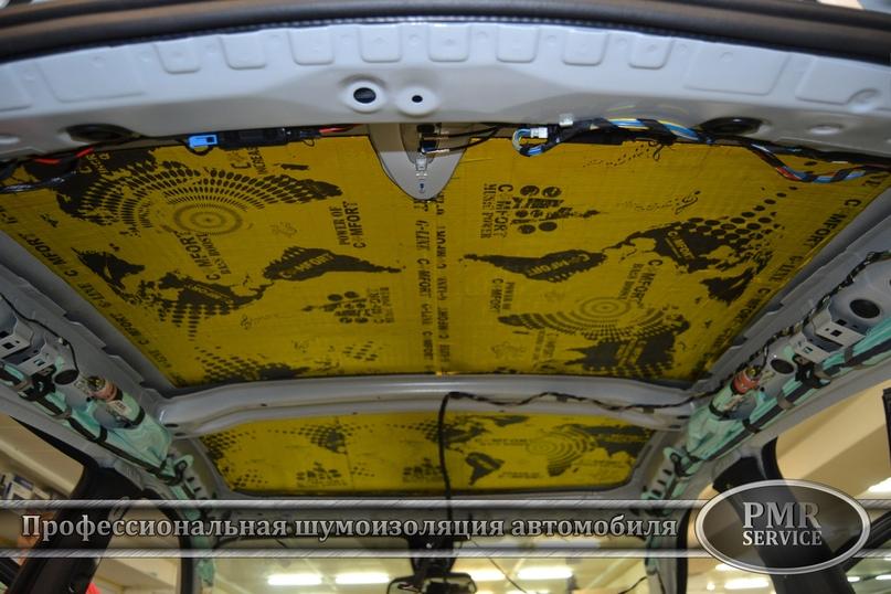 Шумоизоляция BMW X6 M, изображение №10