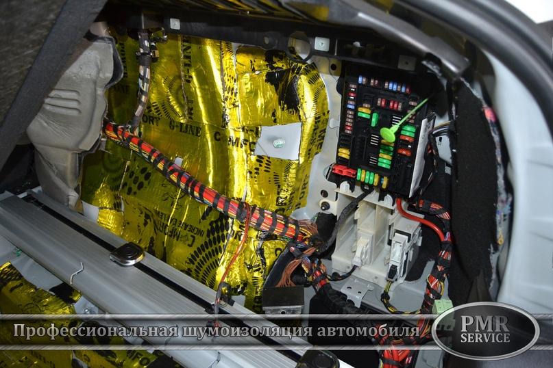 Шумоизоляция BMW X6 M, изображение №20
