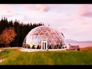 Geodesic Dome Protects Cob House and Family of 6 in Arctic Circle | Small House Design
