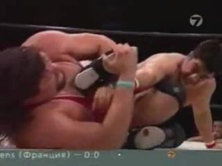Бушидо. Gary ALBRIGHT vs Nobuhiko TAKADA (две легенды японского рестлинга)