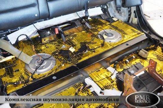 Шумоизоляция BMW X5, изображение №7