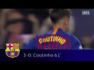 Барселона - Манчестер Юнайтед 3:0