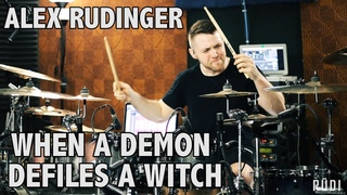 "Alex Rudinger - Whitechapel - ""When A Demon Defiles A Witch"""