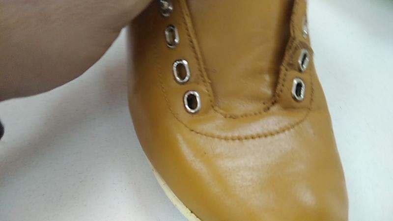Японская краска для кожгалантереи и обуви Цвет охра 009