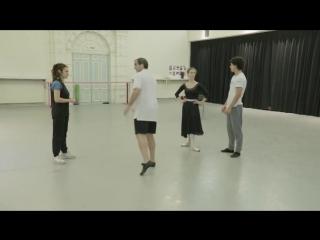 English National Ballet, Irek Mukhamedov and Viviana Durante are coaching Isaac Hernández and Jurgita Dronina, MANON