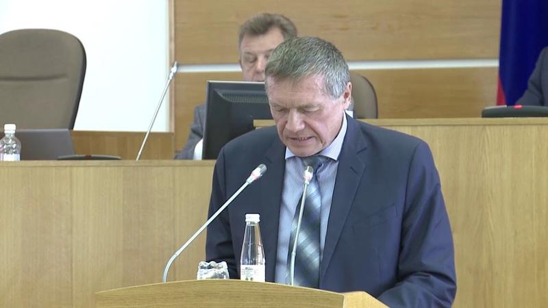 Выступление Виктора Леухина на Публичных слушаниях