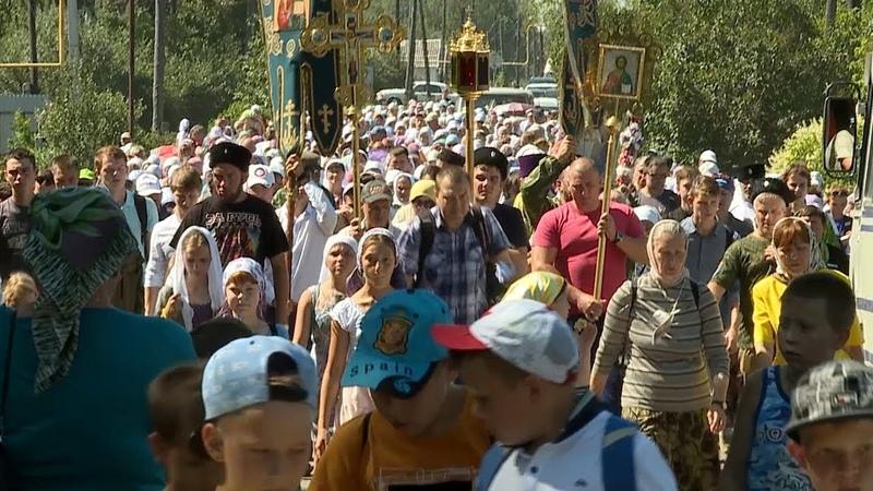 В Ичалковском районе совершили крестный ход на крутую гору где жил Филарет Ичалковский