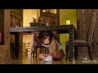Elena koshka & lilly hall in an immersive story [lesbian, latina, masturbation, 1080p]