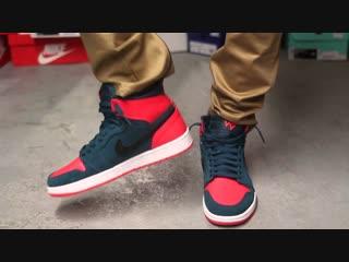 Мужские кроссовки Air Jordan 1 Retro High OG Q54 Красные