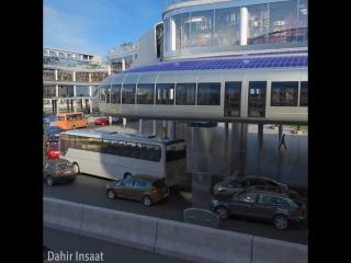 Потрясающий концепт общественного транспорта будущего