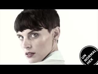 18+ agata descroix #sexy #aggression #androgyne #lgbt #lesbian #fashion #face #eyes #unnormalhex