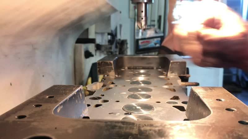 Обработка седел клапанов Wolksvagen 1 9 Diesel на станке Rottler SG7