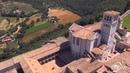 FLYCAM VIDEORIPRESE AEREE CON DRONE Basilica di San Francesco Assisi