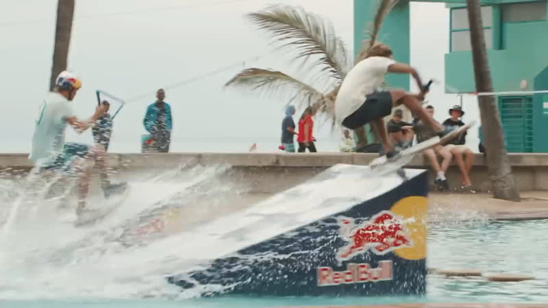 Wakeskating in South Africa