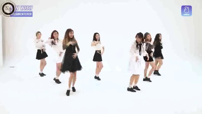[RUS SUB] 180727 FANWISH Part 1. DREAMCATCHER Random Speed Dance