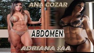 ABDOMEN-ANA COZAR,ADRIANA SAA  / JON JAMES CANO