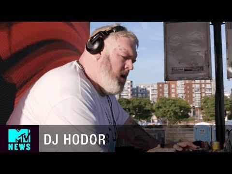 Kristian Nairn aka Game of Thrones Hodor on DJ-ing | MTV News