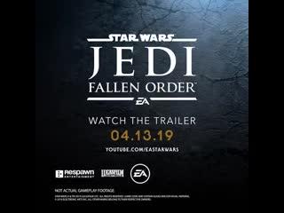 Star Wars Jedi: Fallen Order — тизер