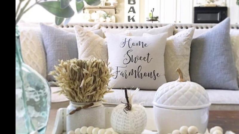 Farmhouse Fall Decor Home Inspo
