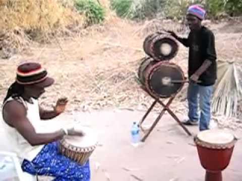 Tiriba from Gambia with Lebon and Ibro