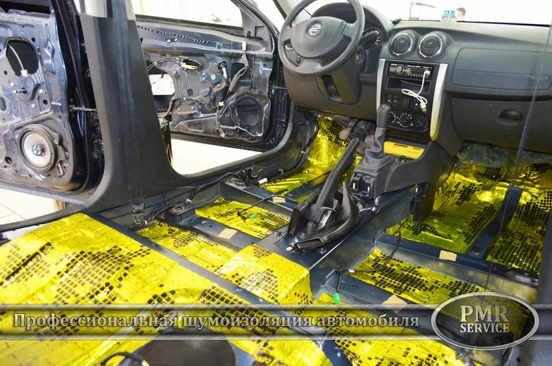 Шумоизоляция Nissan Almera, изображение №12