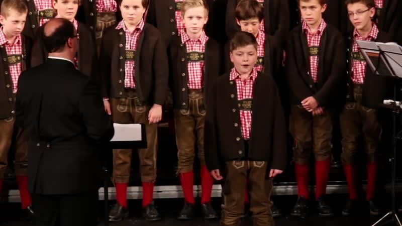 Wannst in Himmi - Louis Deschanel soliste alto du Tölzer Knabenchor